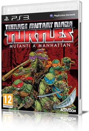 [PS3] Teenage Mutant Ninja Turtles: Mutants in Manhattan (2016) - EUR - FULL ITA
